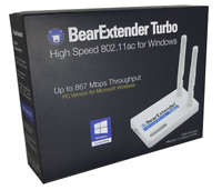 BearExtender 802.11ac dual band USB WiFi adapter RP-SMA Linux Realtek RTL8812AU