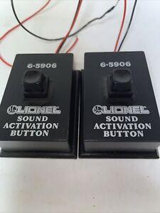 Lionel sound activation button 6-5906