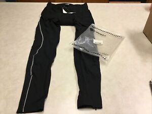 LAMEDA Men's Windpro Fleeced Cycling Pants. Size X-Large Padded. New