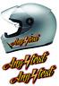(2) ANY TEXT Helmet Decals GOLD LEAF  harley dyna fxr fxrt  fxrs fxrd fxlr low