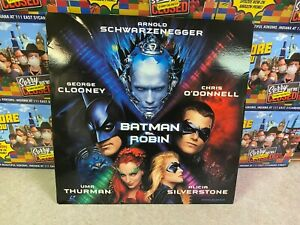Laser Disc (Used) Video Movie Disc Vintage - 1997 DC Comics BATMAN & ROBIN