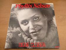 Phyllis Nelson-Move closer Vinyl LP Album UK 1984 HI NRG disco CARRERE Cal 203