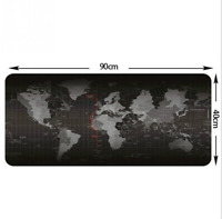 Large Mouse Pad Old World Map Gaming Mousepad Anti-slip Natural Rubber Mouse Mat