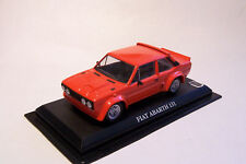 Fiat Abarth 131 Mirafiori Rallye - Bertone - Coupe - rot 1981 - dP - 1:43 Sockel