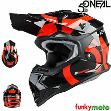 Oneal 2 series Rl Slick Motocross Adulto Mx Atv Quad Enduro Casco de Bicicleta Naranja