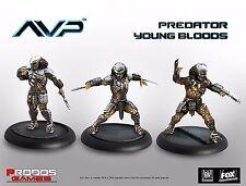 Nuevo Aliens vs Predator comienza la caza predator jóvenes magos placa de expansión Reino Unido