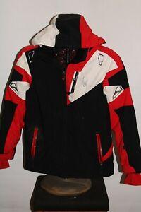 SPYDER BOYS sz-14 insulated hooded Snowboard/snow Jacket