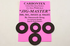 PENN JIG-MASTER CARBONTEX 500,501,505HS & 506HS REELS DRAG WASHER UPGRADE SETS
