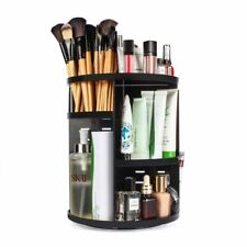 Adjustable Makeup Organizer Box Rotating Cosmetic Storage Beauty Products Holder