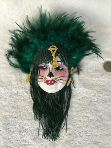 Lot _2_Vintage Unique Creations San Francisco - Face Ceramic Wall Masks_Lovely