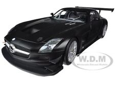 2011 MERCEDES SLS AMG GT3 STREET VERSION MATT BLACK 1/18 BY MINICHAMPS 151113101