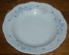 1 Suppenteller  22 cm   Mitterteich Form 2000 blaues  Blumendekor
