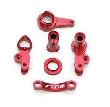 ST Racing Red Aluminum Steering Bellcrank Set for Traxxas Slash 4x4 # ST6845R