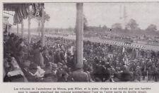 1922  --  TRIBUNES DE L AUTODROME DE MONZA PRES DE MILAN   3C315
