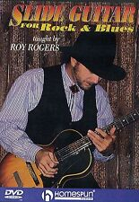 Slide Guitar For Rock And Blues Learn to Play Country Lesson Music DVD