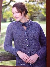 The knitter - JUNIPER HILL - Cardigan Knitting Pattern by LINDA PARKHOUSE