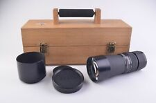 EXC+ ZEISS 350mm f5.6 TELE-TESSAR HFT LENS FOR ROLLEI SLX, 6000, BOXED, HOOD