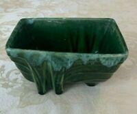 Cookson MCM Green & Turquoise Glaze Pottery Planter CA Pottery 1266 USA 6