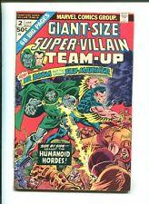"""GIANT-SIZE SUPER-VILLAIN TEAM-UP #2 - """"The Fisherman Collection"""" (7.0) 1975"""