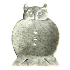Handmade Natural Stone Bathroom Accessories Large Soapstone Dish Owl Gift Ideas