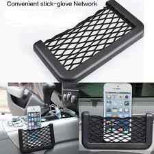 Cool Car Seat Side Back Storage Net Bag Holder Pocket Organizer For Cell Phone
