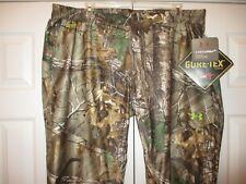 UA Gore-Tex Storm3 Waterproof/Windproof RealTree Hunting Pants~NWT $224.99