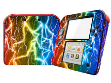 Flashing lightning Vinyl Skin Sticker for Nintendo 2DS Console