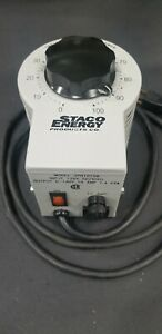 Staco Energy Products Co. 3PN1010B Variable Autotransformer 10 Amp, Variac