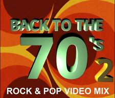 70's Rock & Pop 2 Music Videos Dvd - Steve Miller, Peter Frampton & More 49 Hits