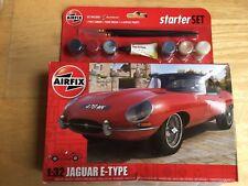 Airfix Jaguar E-Type Starter Set Model Kit A55200 Scale 1:32