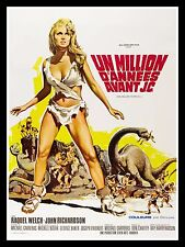 ONE 1 MILLION YEARS BC * CineMasterpieces FRANCE MOVIE POSTER 1966 RAQUEL WELCH