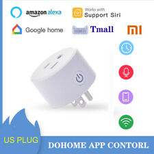 Smart Plug WiFi Outlet Socket Remote Control & Timer HomeKit Alexa Google Home