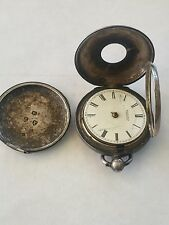 Vintage Richards Wexford Silver Pocket Watch Pre 1850 Possible 1816