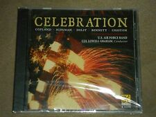 US Air Force Band Collowell Graham Celebration - Copland Schuman Holst sealed