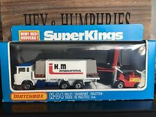 matchbox super kings Very Rares K 34B-3.Set mint OVP excellent from 1981