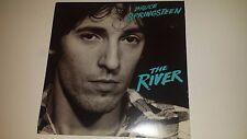 "BRUCE SPRINGSTEEN - THE RIVER- COLUMBIA 36856 - 2 ROCK LP VINYL SET 12"""