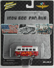 Johnny Lightning - VW Bus T1 Samba rot Indy Fan Bus Indianapolis Neu/OVP