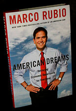"""Marco Rubio SIGNED book """"American Dreams"""" (1st Edition/1st Printing)"""