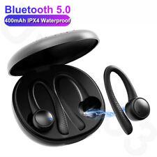 TWS Bluetooth 5.0 Earphones Ear Hook Running Stereo Earbuds With MIC Waterproof