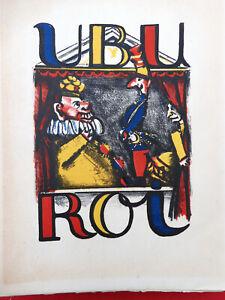 Ubu Roi par Alfred JARRY illustré Edmond HEUZE 1947 N°           8