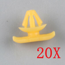 Qty 20 Rubber Door Seal Mounting Seal Clips Retainer For VW Golf Jetta Passat