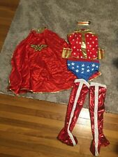 WOMEN'S DC WONDER WOMAN PANTS COSTUME SIZE LARGE (Used)