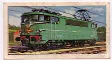 Trains of the World: Barratt Card no. 21 - French Railways - Mistral Express