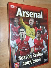 Arsenal - 2007 / 2008 Season Review  DVD