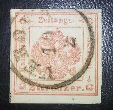 Lombardo veneto 2 kreuzer n.3a usato Verona