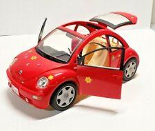 MATTEL BARBIE KEN 2000 RED VOLKSWAGEN BEETLE BUG VW VEHICLE SPORTS CAR