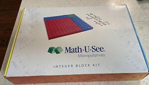 MATH-U-SEE MANIPULATIVE INTEGER BLOCK SET BY DEMME LEARNING BLOCKS Complete