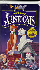 """WALT DISNEY MASTERPIECE COLLECTION ...""""THE ARISTOCATS""""......NEW SEALED VHS VIDEO"""