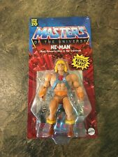 Masters Of The Universe Origins He-man Figure Unpunched Card