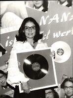 Nana Mouskouri - Vintage Press Photo Photo Norbert Unfried (U-1054
